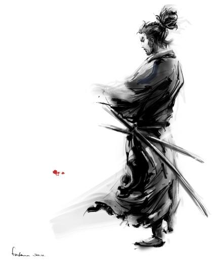 Miyamoto Musashi by Fai Chan